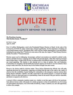 "This Election Season, ""Civilize It"""